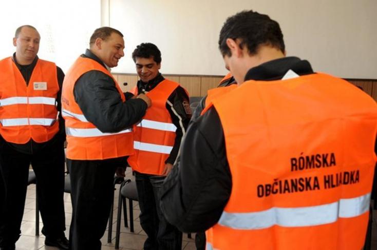 Roma polgárőröket küldene az utcákra az önkormányzat