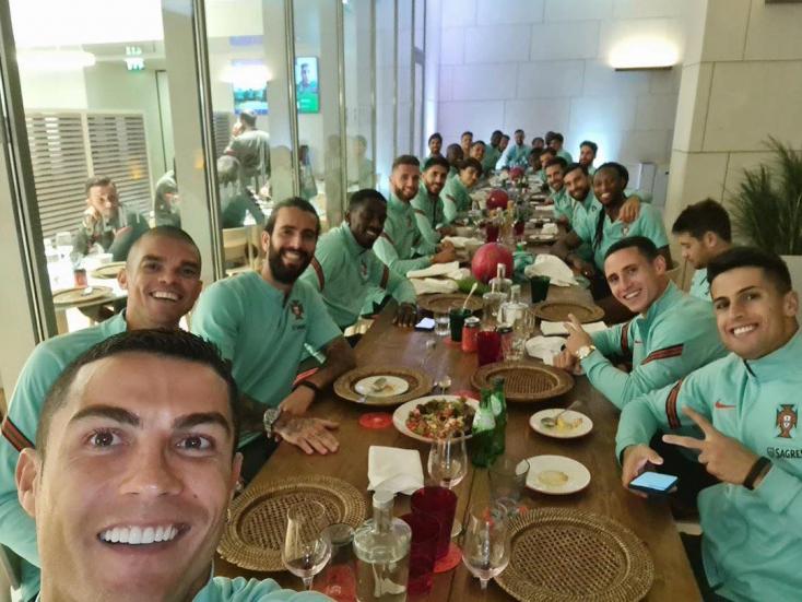 Cristiano Ronaldo is koronavírusos lett