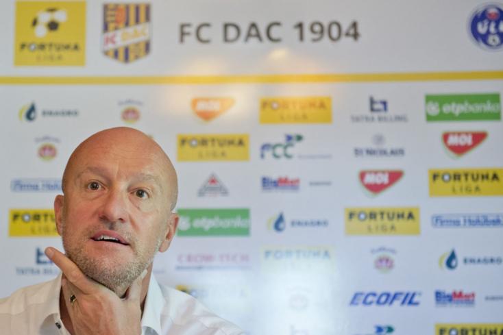 Michalovce-DAC – Rossi: A mérkőzés egészét nézve, úgy gondolom, megérdemelten győztünk