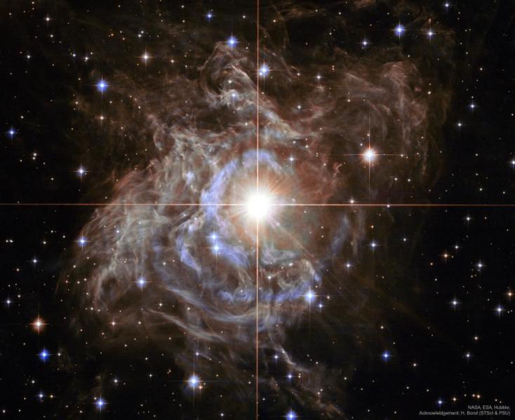 Haldokló csillagról készített felvételt a NASA (videó)