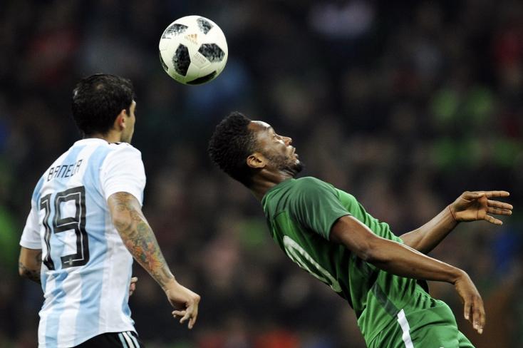 Nigéria megalázta Argentínát fociban