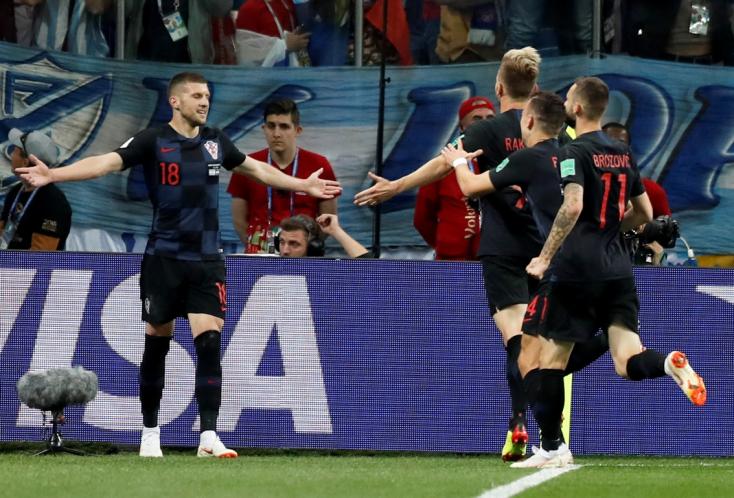 A horvátok alaposan kitömték az argentinokat