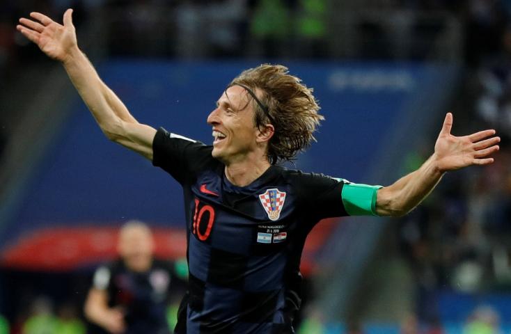 Luka Modrić lett a vb legjobb játékosa