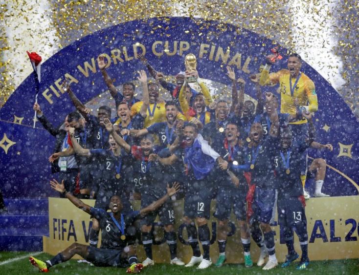 Hat gól a vb-döntőn, Franciaország világbajnok!