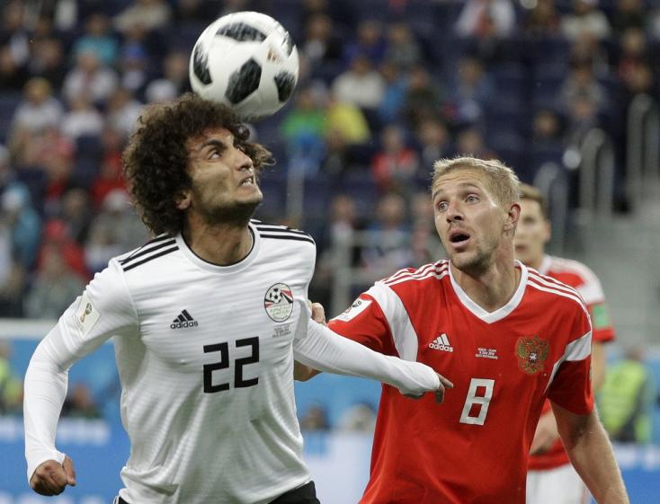 Oroszország-Egyiptom 3-1