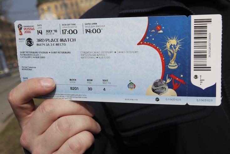 Egy nap alatt 165 ezer jegyet adtak el a világbajnokságra