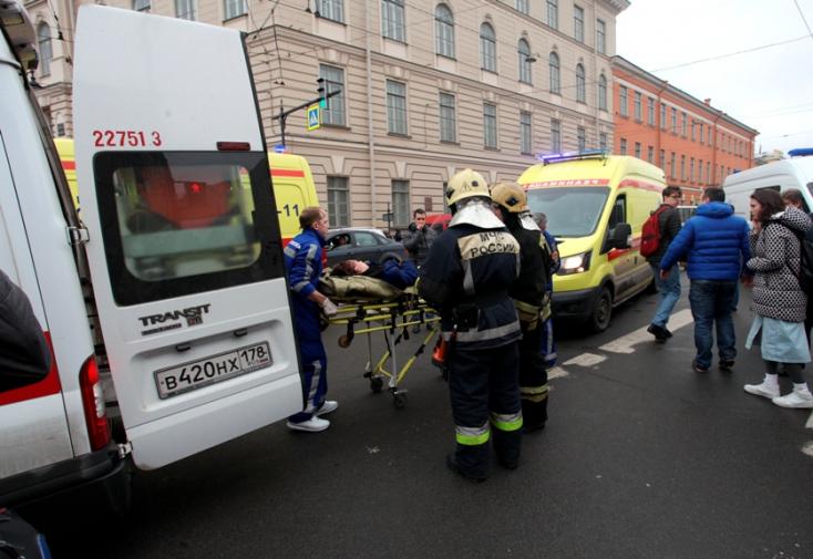 TERROR: A szentpétervári gyanúsítottnál a bomba elemeihez hasonló dolgokat találtak