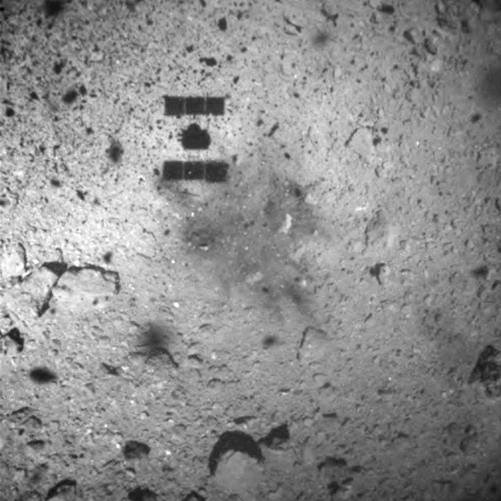 Végrehajtotta második leszállását is a Hajabusza-2 a Ryugu kisbolygón
