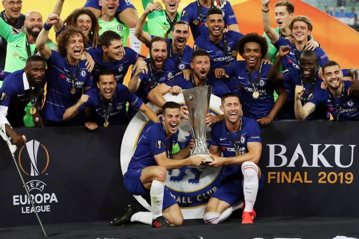 Európa Liga: Simán legyőzte a Chelsea az Arsenalt a döntőben