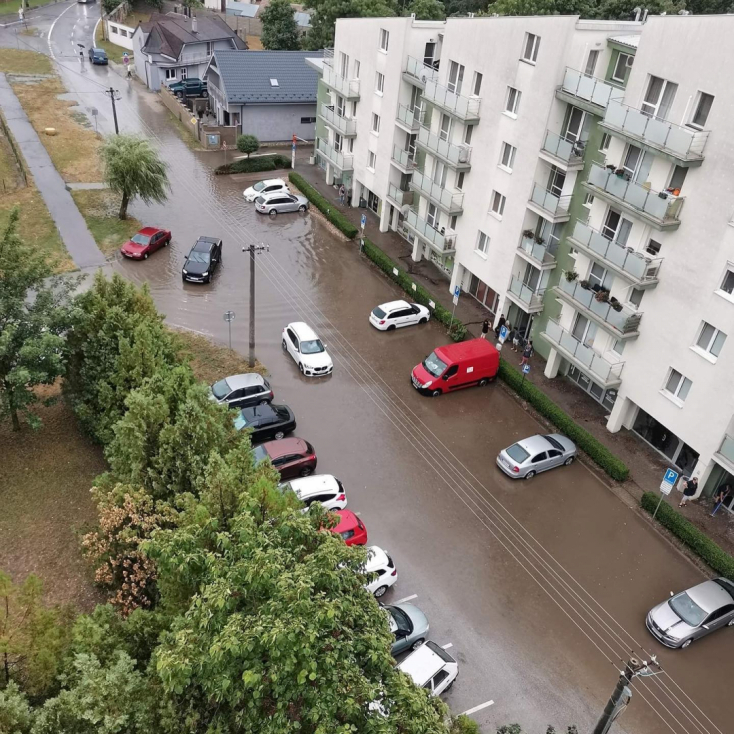 Somorja és Jóka környékén okozta a legnagyobb károkat a vasárnapi vihar (FOTÓK)