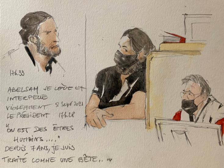 """Bíróság elé állt az iszlamista terrorista: """"Azt akartuk, hogy a franciák ugyanazt a fájdalmat éljék át, amit mi"""""""