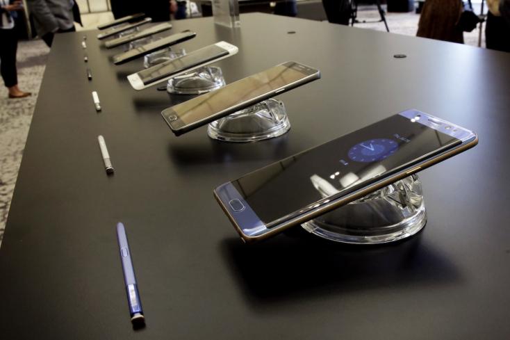 A Samsung világszerte felfüggeszti a Galaxy Note 7 eladását