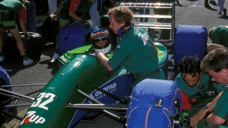 Brutális áron kelhet elMichael Schumacher első Forma-1-es autója