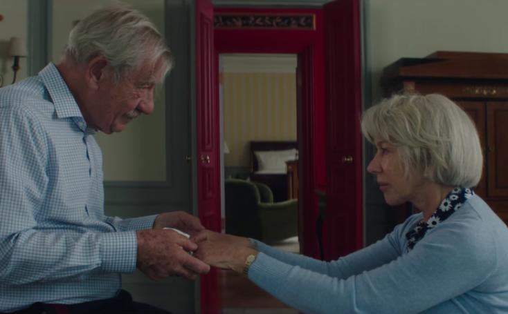 Helen Mirren és Ian McKellen először játszik együtt a filmvásznon