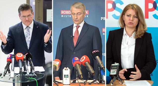 AKO: Čaputová és Mistrík is legyőzné Šefčovičot a második fordulóban!
