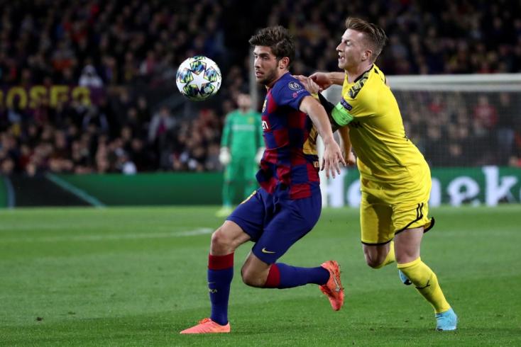 Sergi Robertóról egyeztetett a Barcelona és a Juventus