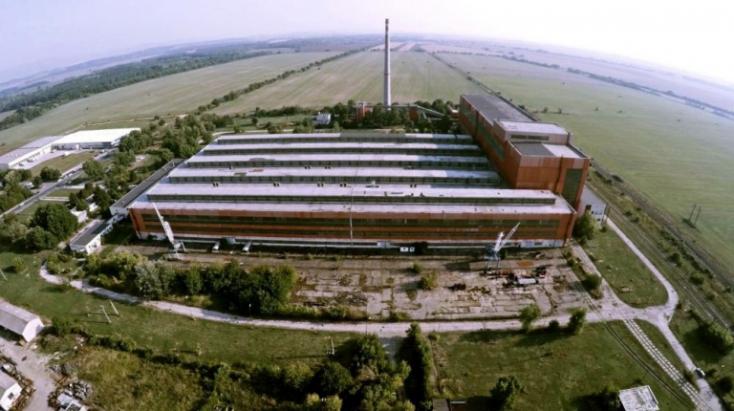 Zselíz: új üzem a volt gépgyár területén