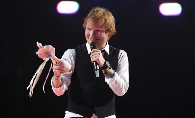 Több mint 55 ezer eurónyi összegért kelt el Ed Sheeran kamaszkori demója