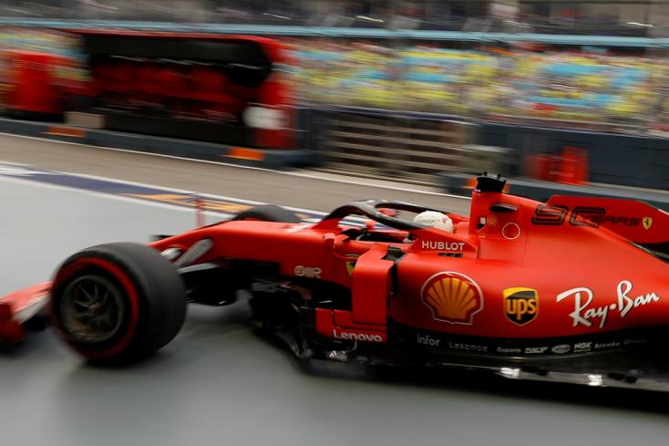 Szingapúri Nagydíj: Vettel több mint egy év után nyert