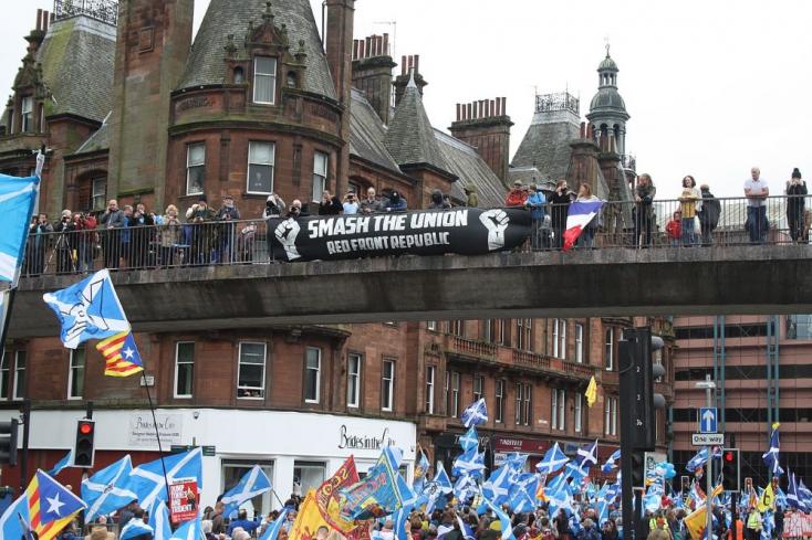 """London pár éve """"kirángatta"""" az EU-ból a skótokat, akik ebbe azonban nem akarnak beletörődni"""