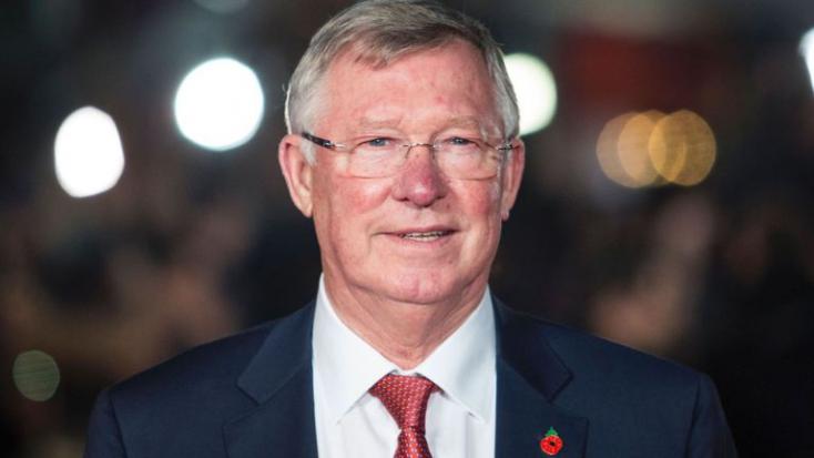 Agyvérzést kapott Sir Alex Ferguson