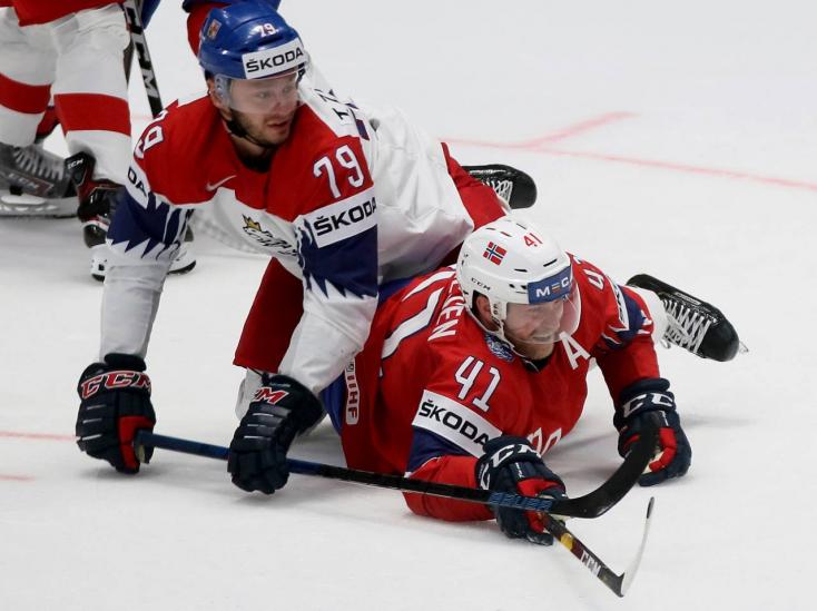 Hoki-vb: Második meccsüket is megnyerték a csehek