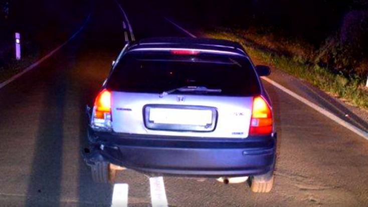 Elkötötte apja autóját a tinédzser, majd részegen kis híján elütött egy rendőrt