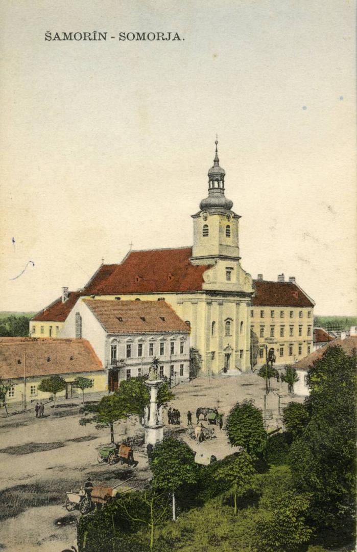 Az első csallóközi egyházi hangverseny
