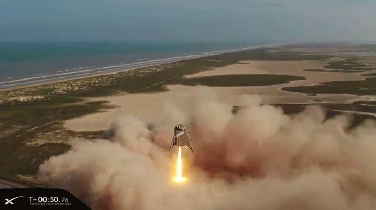 Sikeresen tesztelte Mars űrhajója prototípusát a SpaceX