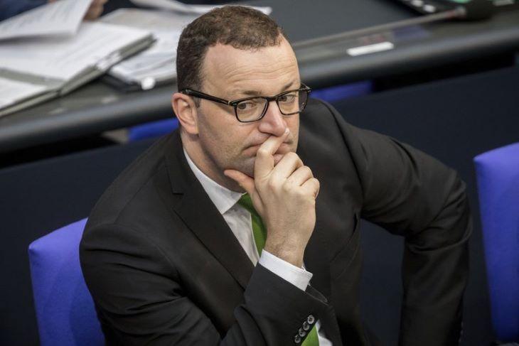 Megfertőződött a német egészségügyi miniszter