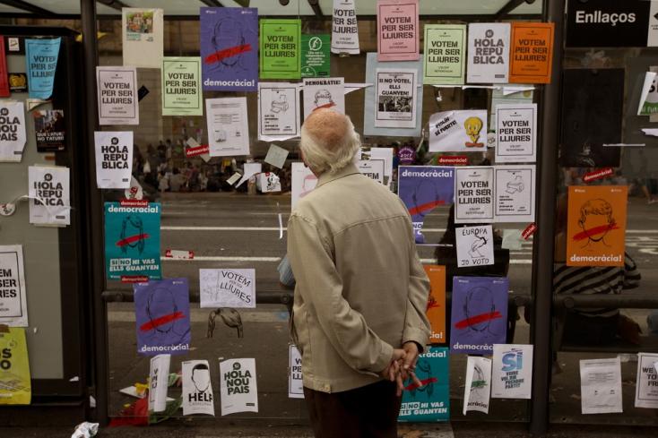 Forrong Katalónia: Mi lesz veled, Barcelona?