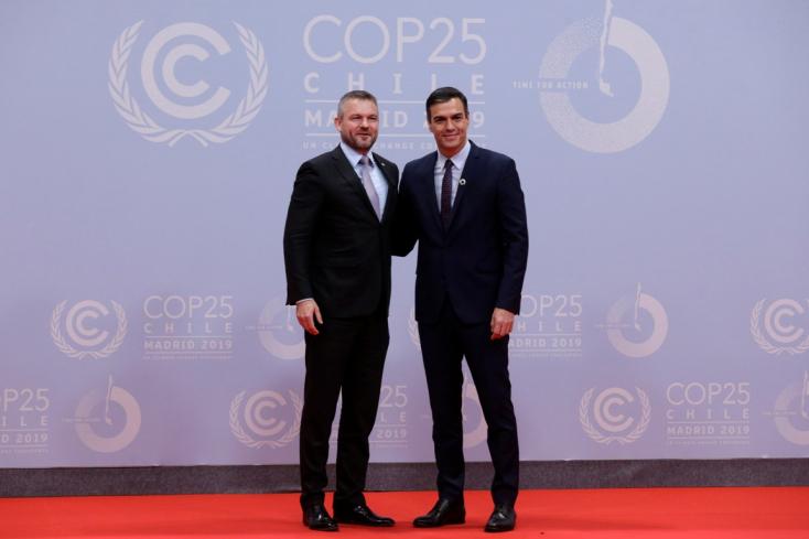 Pellegrini: Szlovákia készen áll a klímavédelemmel kapcsolatos átalakításokra