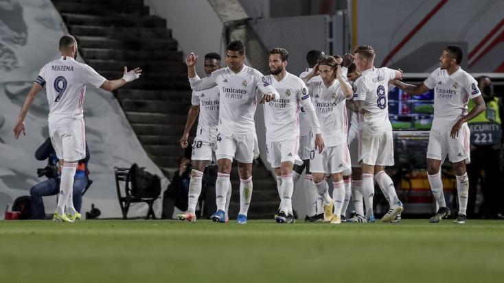 Bajnokok Ligája: A Real kétgólos előnnyel utazhat Liverpoolba, a Manchester City egygólos előnyt szerzett