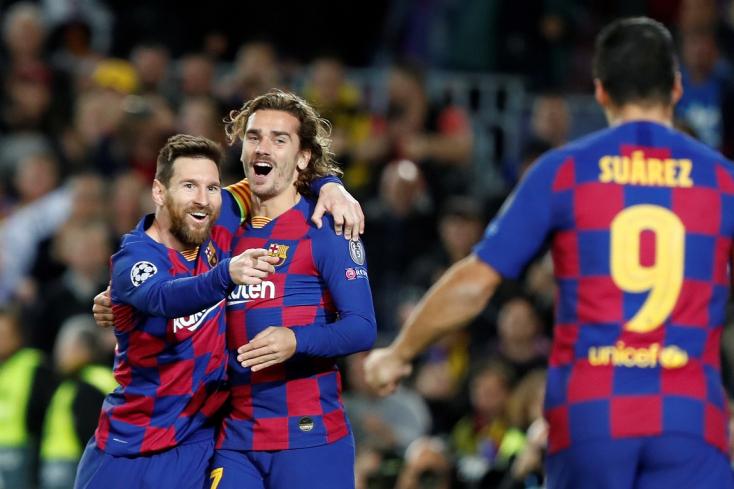 Bajnokok Ligája: Simán jutott tovább a Barca