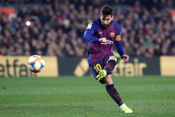 Messi mesterhármasával nyert Sevillában a Barcelona