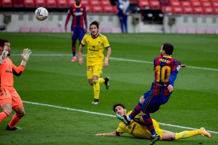 La Liga: Messi történelmi mérkőzésén pontokat veszített a Barcelona