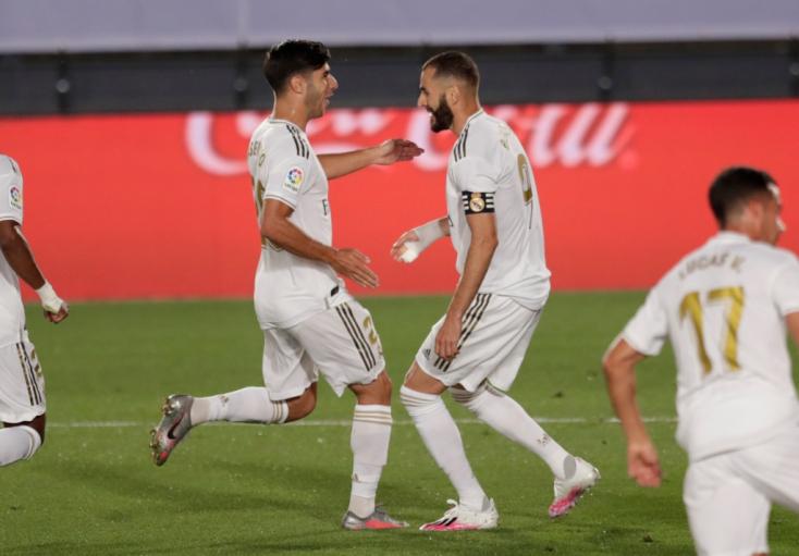 Nyert a Real Madrid, ismét négypontos előnnyel vezeti a tabellát