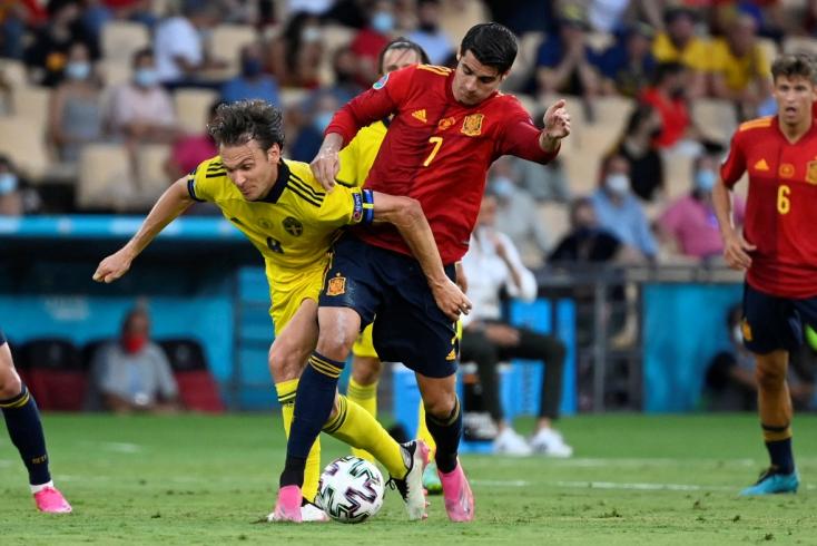 EURO-2020: Nem bírtak a spanyolok a svédekkel