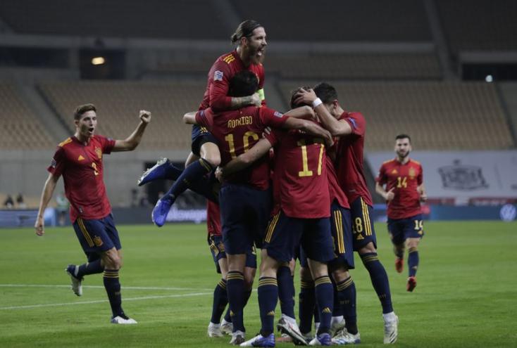 Nemzetek Ligája - A spanyolok6:0-rakiütötték a németeket