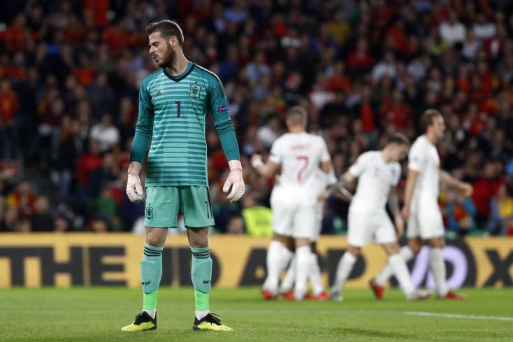 Nemzetek Ligája: Angol győzelem Spanyolországban
