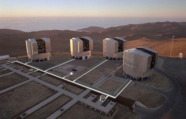 A világ legnagyobb optikai teleszkópját alkották meg