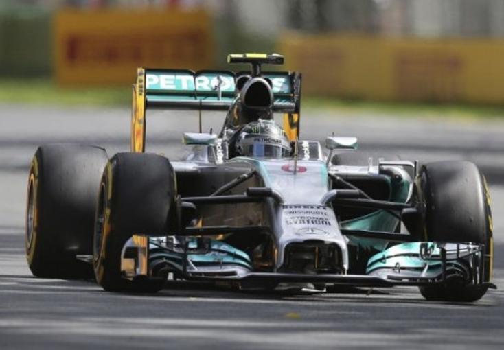 Forma-1 Brit Nagydíj - Rosberg nyerte az időmérőt