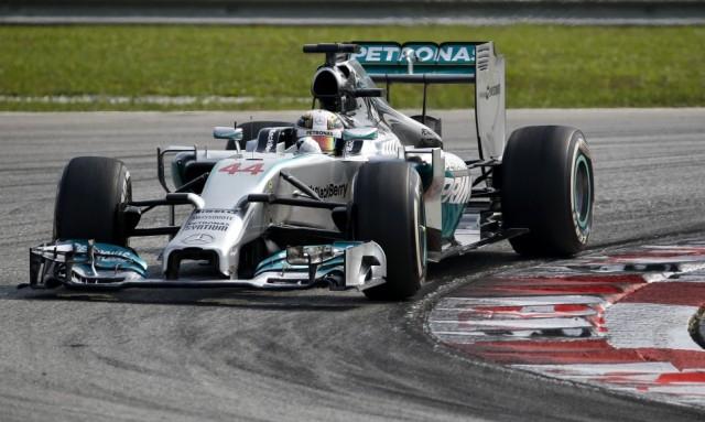 Kínai Nagydíj - A második edzésen is Hamilton volt a leggyorsabb