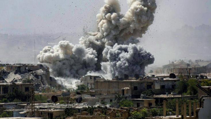 Szíria - Sok civil meghalt a Kelet-Gúta elleni légitámadásokban