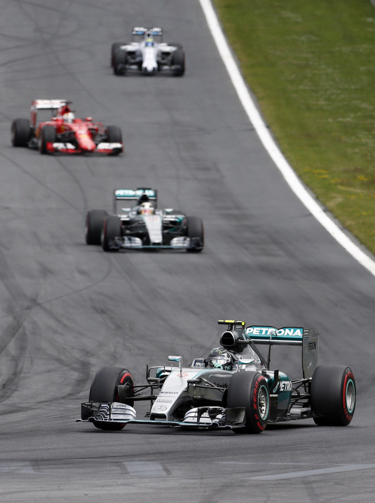 Osztrák Nagydíj: Rosberg győzött Spielbergben