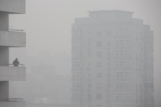 Pekingi szmog - Csúcson a levegő szennyezettsége a kínai fővárosban