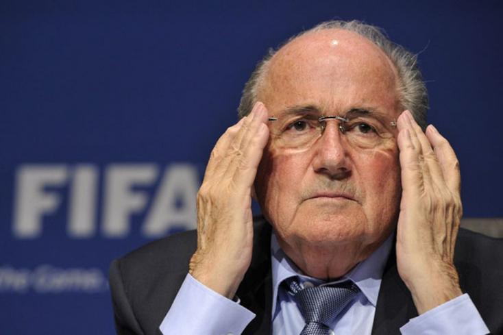 FIFA: Hiába fellebbezett Joseph Blatter