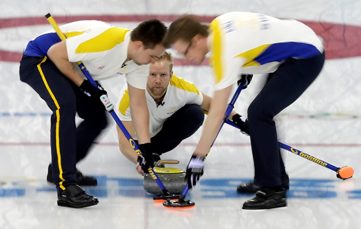 Szocsi 2014 - Svéd bronzérem férfi curlingben