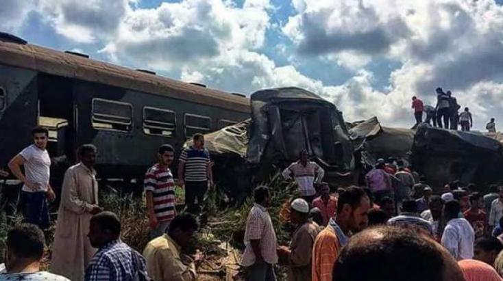 Sokan meghaltak egy egyiptomi vonatbalesetben