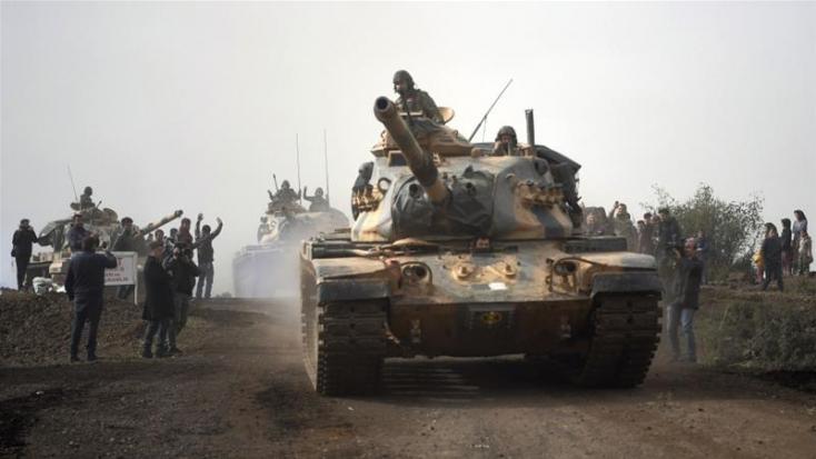 Szíria - A török hadsereg bejelentette, hogy körbezárta Afrínt